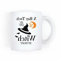 Xray Tech Halloween Gift Funny Witch Mug Radiology Office Ga